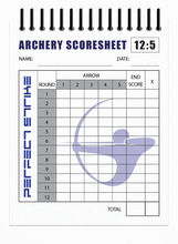 Perfect Strike Archery SCOREBOOK with Rules and Scoring Instructions : Heavy Duty. Great for Practice and Competition. 12Round/5Arrow Scoresheets.