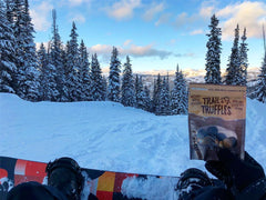Snowboarding with Trail Truffles
