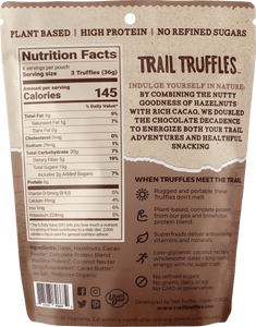 Chocolate Hazelnut Truffle Pouch