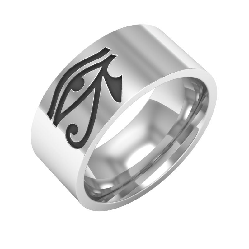 Egyptian Eye of Horus Ra  Ring