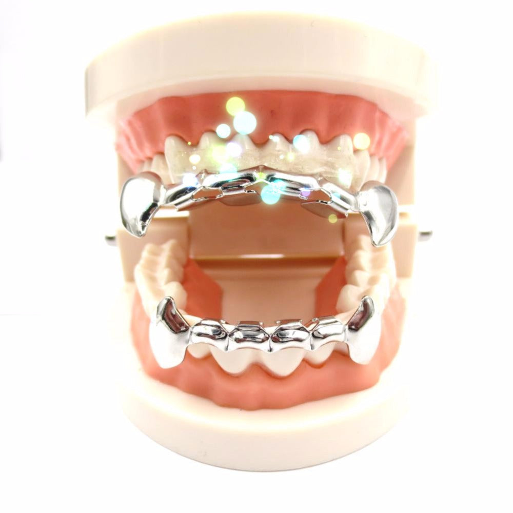 Fang Grillz Top & Bottom Set Custom Fit