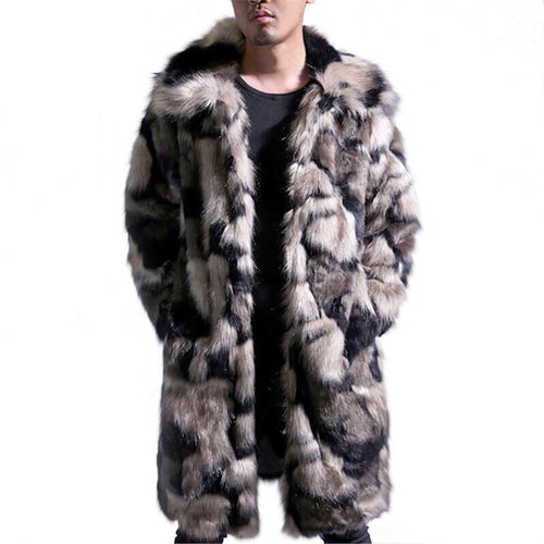 Winter Autumn Fur Coat