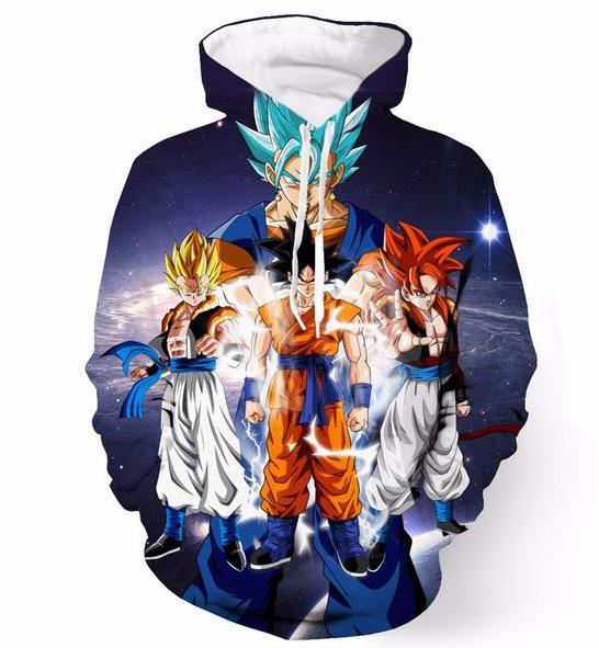 Dragon Ball Z Super Saiyan Collection Hoodie