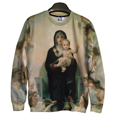 Virgin Mary Crewneck