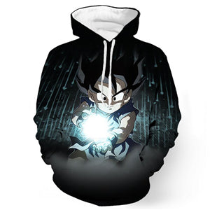 Dragon Ball Z Goku Clout God Hoodie