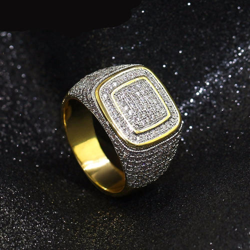 All Iced Out Micro Pave Ring