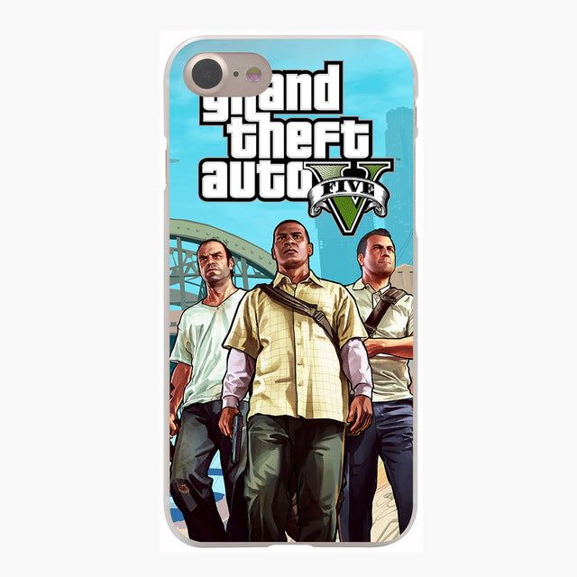 Grand Theft Auto GTA V Cover Case for iPhone