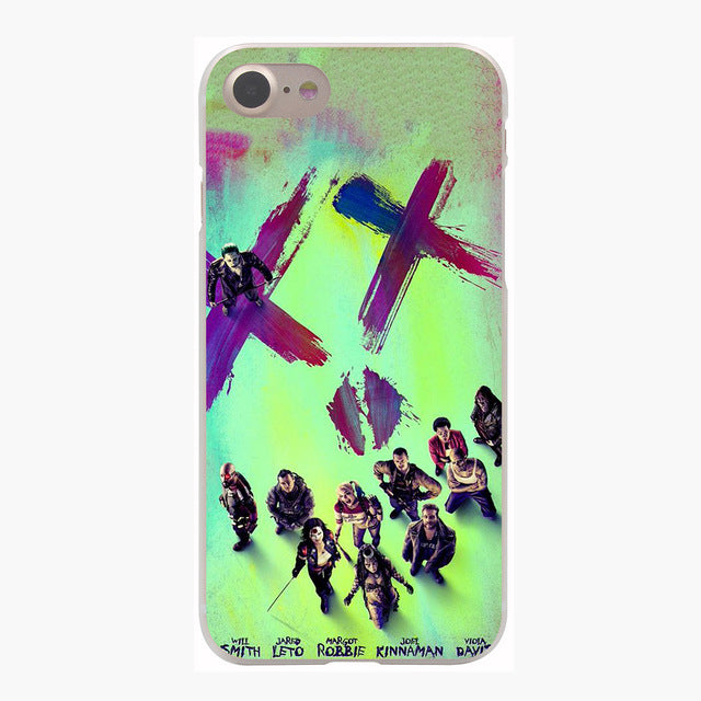 Harley Quinn Suicide Squad & Joker DC Comics Cover Case for iPhone