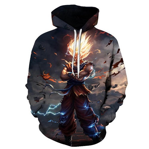 Dragon Ball Z Clout Hoodie