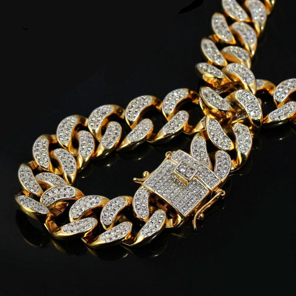 Iced Out Miami Cuban Chain