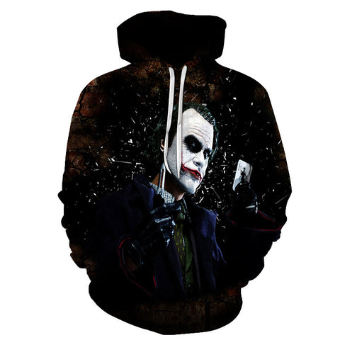"Suicidal Clown ""Life's Not Funny"" Hoodie"