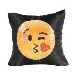 2 Faced Face Changing Clout-moji Pillow Cover