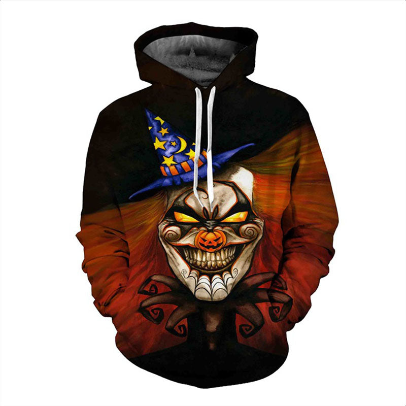 Demon Clown Scary Hoodie