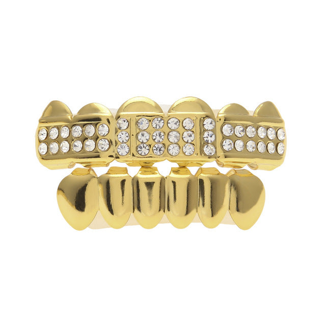 Iced Out CZ Rhinestone Egyptian Custom Grill