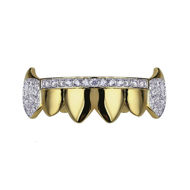 Iced Out Zircon Fang Grill
