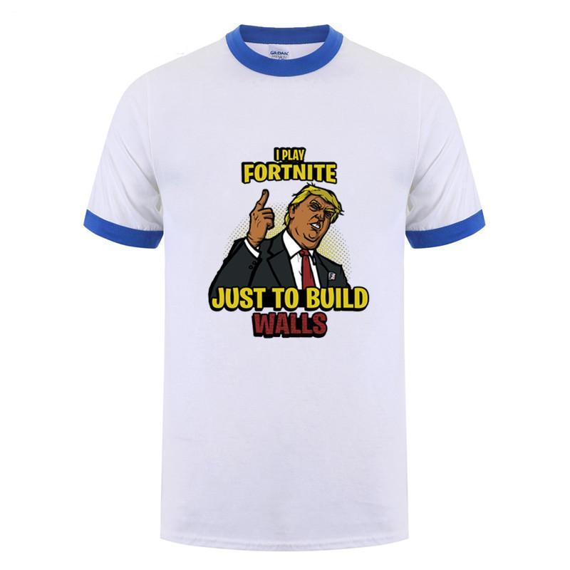 I play Fortnite just to build the walls T-shirts
