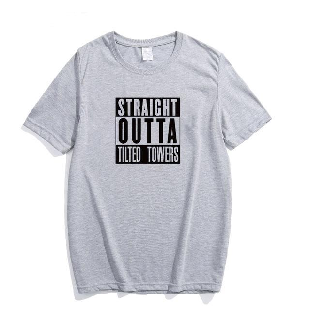 Straight Outta Tilted Towers T-Shirt