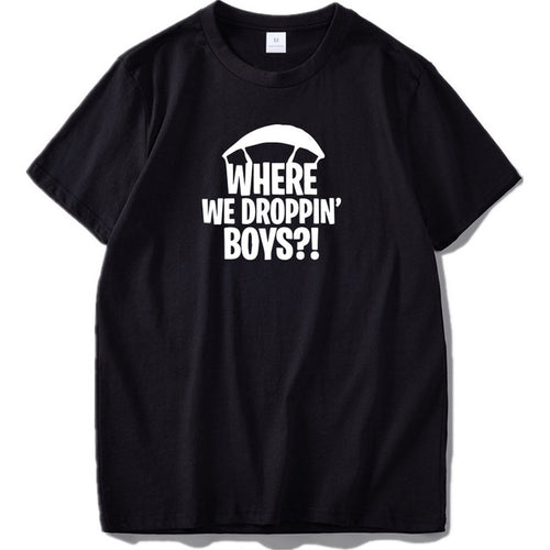 Where We Droppin Boys T-Shirt