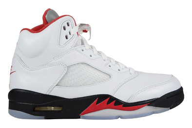 "NIKE AIR JORDAN 5 RETRO ""FIRE RED SILVER TONGUE 2020"""