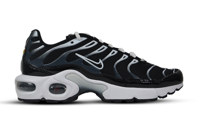 "NIKE AIR MAX PLUS (GS) ""Black/White-Anthracite"""