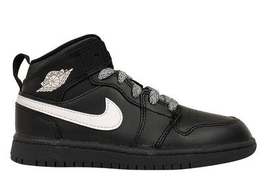 "Air Jordan 1 Mid BP ""Black/White"""