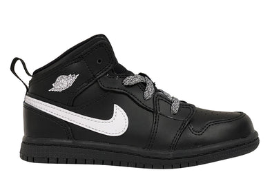 "Air Jordan 1 Mid BT ""Black/White"""