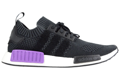 "ADIDAS NMD_R1 PK ""OG KNIT - BLACK PURPLE"""