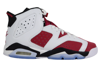 "NIKE AIR JORDAN 6 RETRO (GS) ""CARMINE-BLACK BLANC"""