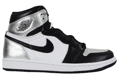 "NIKE WMNS AIR JORDAN 1 HIGH OG ""SILVER TOE"""