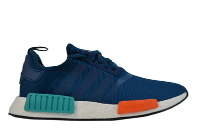 "ADIDAS NMD_R1 ""Blue Night/Energy Orange"""