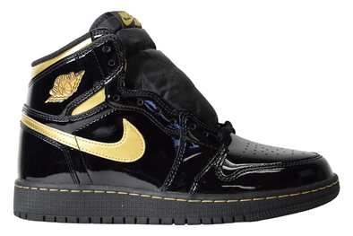 "NIKE AIR JORDAN 1 RETRO HIGH OG GS ""METALLIC GOLD"""
