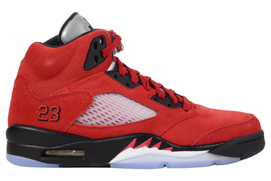 "NIKE AIR JORDAN 5 RETRO ""RAGING BULL RED"""