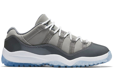 "Air Jordan 11 Retro Low (PS) ""Cool Grey"""