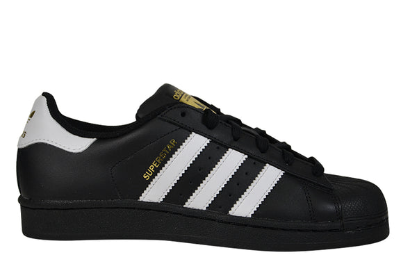 "ADIDAS SUPERSTAR JUNIOR ""Core Black/Cloud White/Metallic Gold"""
