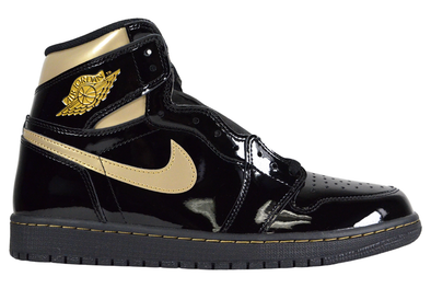 "NIKE AIR JORDAN 1 RETRO HIGH OG ""METALLIC GOLD-BLACK"""