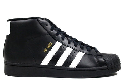 "Adidas Pro Model High ""Black/White/Gold"""