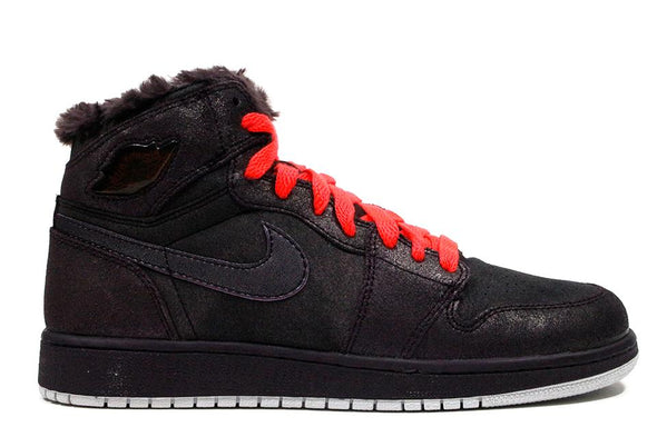 "Air Jordan 1 Retro High ""Purple/Bright Crimson"" (GS)"