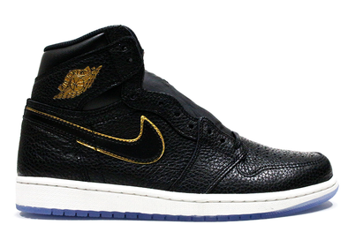 "Air Jordan 1 Retro LA ""AllStar"" Metallic Gold"