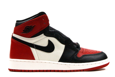 "Air Jordan 1 Retro ""Bred Toe"" GS"