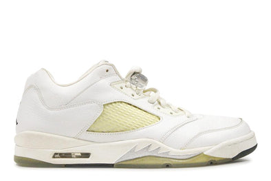 "Air Jordan 5 Retro ""White/Metallic Silver"" Low WMNS"