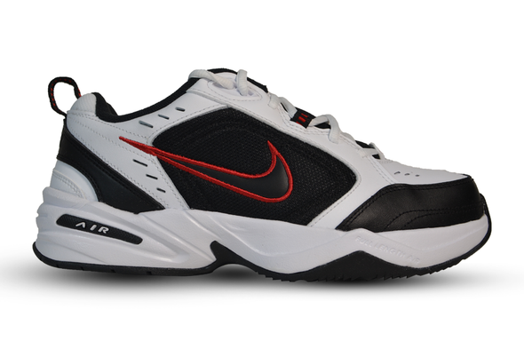 "NIKE AIR MONARCH IV (4E) SNEAKER ""White/Black"""