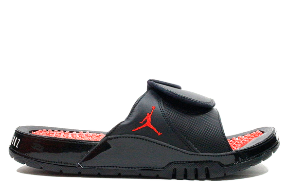 "Jordan Hydro XI Retro Sandle ""Black/Red"""