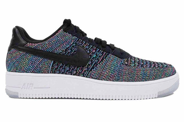 "Nike AF1 Ultra  Flyknit Low  ""Black/Voltage Green/Pink"""