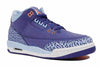 Nike  Air   Jordan 3 Retro GS Kid's Footwear  Basketball Dk Purple  Dust  Atomic Pink