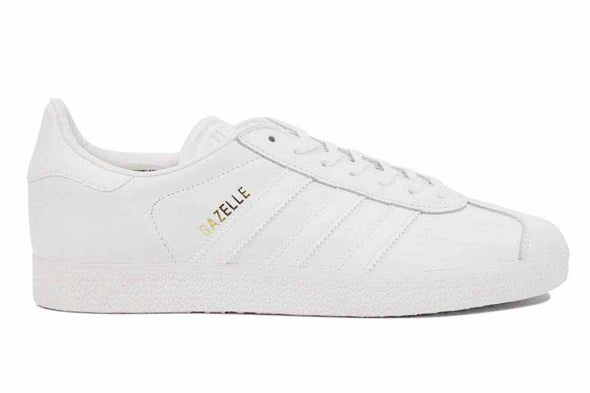 "Adidas Gazelle ""White/Gold Metallic"""