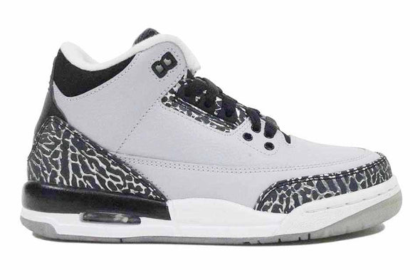 "Nike  Air  Jordan 3 Retro (GS) ""Wolf Grey"""