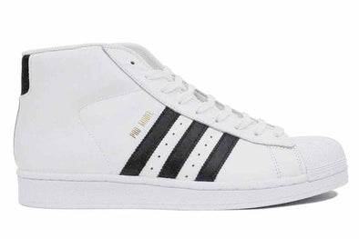 "Adidas Pro Model High ""White/Black/Gold"""