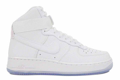 "Nike Women's Air Force 1 HI Premium ""White/Blue Gum Bottom"""