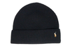 "POLO RALPH LAUREN SIGNATURE PONY WOOL BLEND HAT ""Black"""