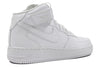 "NIKE AIR FORCE 1 07 MID (WMNS) ""White/White"""